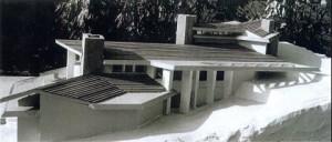 1985 - Maison Bois et Siporex - Maquette