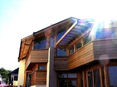 Escargall architecture val de marne maison bois et for Architecte val de marne