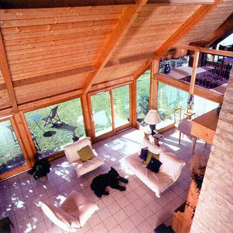 veture de pierre coeur de bois architecture yvelines maison bois et pierre dans les. Black Bedroom Furniture Sets. Home Design Ideas