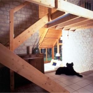 Architecte ossature bois Yvelines - Maison Bois