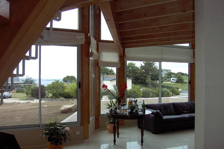 Maison bois design architecture organique for Architecte coulommiers