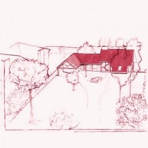maison bois et pierre yvelines