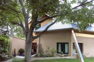 Maison thermopierre et bois dans les yvelines