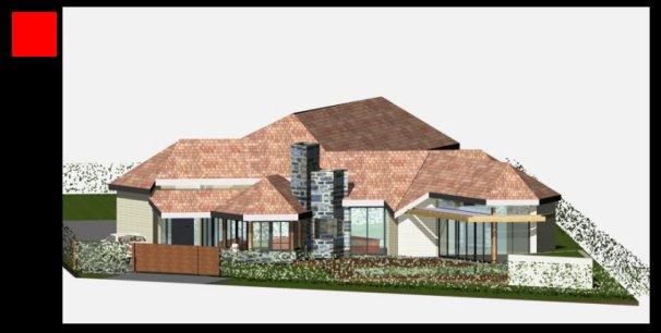 Maison bois dans l essonne architecture organique for Maison atypique essonne