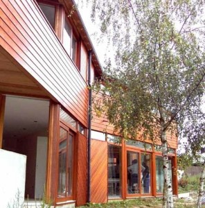 Maison bois d'architecte