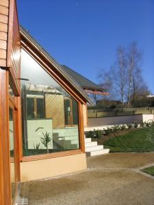 maison bois architecte à chartres