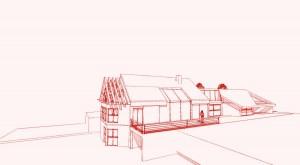 Extension Oise Architecte Art Trait design