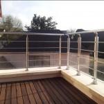 Maison contemporaine en Seine et Marne - La petite terrasse des enfants