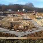 Réalisation des fondations