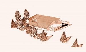 Maison architecte bois Morvan 4