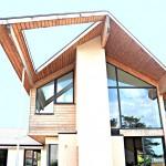 Maison bioclimatique en ossature bois en Charente Maritime
