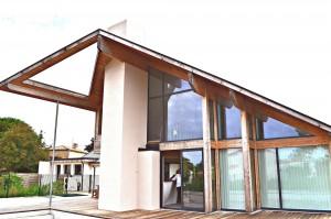 maison contemporaine -structure mélèze