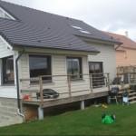 Maison bois dans l'Oise  existante