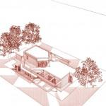 Architecte bois vue d'avion