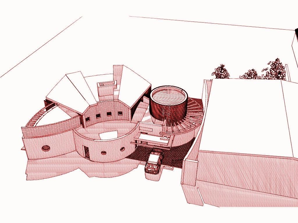 epi d or architecture seine et marne maison contemporaine mixte architecture organique. Black Bedroom Furniture Sets. Home Design Ideas