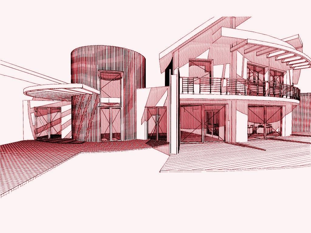 Plan d architecte de maison moderne maison moderne for Plan architecte maison moderne