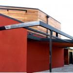 maison architecte bois carport Nord