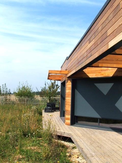 simple naturelle architecture essonne maison ossature bois rt2012 dans l essonne. Black Bedroom Furniture Sets. Home Design Ideas