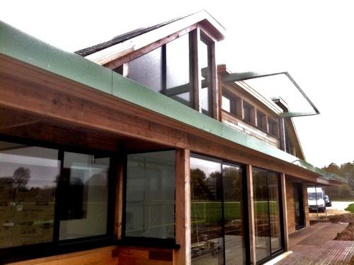 Fiat lux architecture seine et marne maison for Maison ossature bois marne