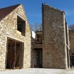 15 avril 2015 - préparation des sols RC du bâtiment principal