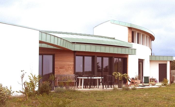 Nouvelle vague architecture vend e maison bois et thermopierre en vend e architecture for Construction maison en bois vendee