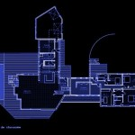 maison contemporaine Plan Rez de Chaussée