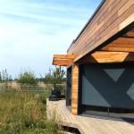 maison architecte bois grande pergola Sud-Ouest